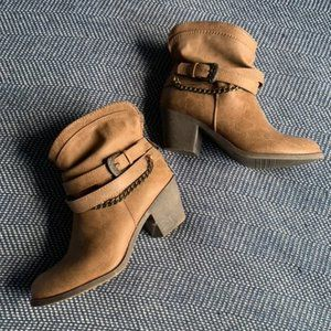 SO Brown Leather Boots